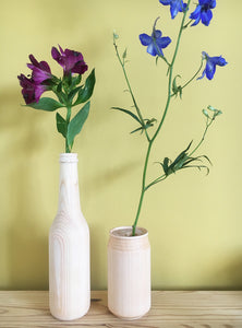 knot BASE CAN S / Hinoki cypress single flower vase