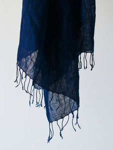 Mills Indigo Shawl -Shade 2- Single