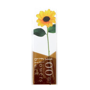 Paperable - 100 Flowers Memo Block