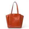 Fashion Pleated Leather Handbag