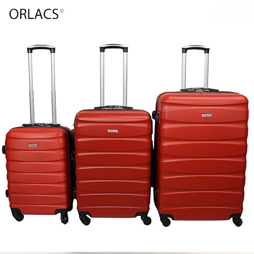 Lightweight Family Rolling Luggage Set with Lock