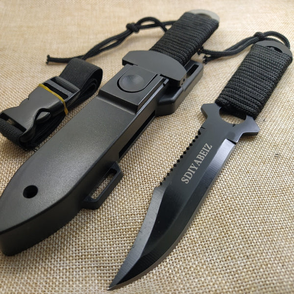 Survival Knife with ABS Sheath