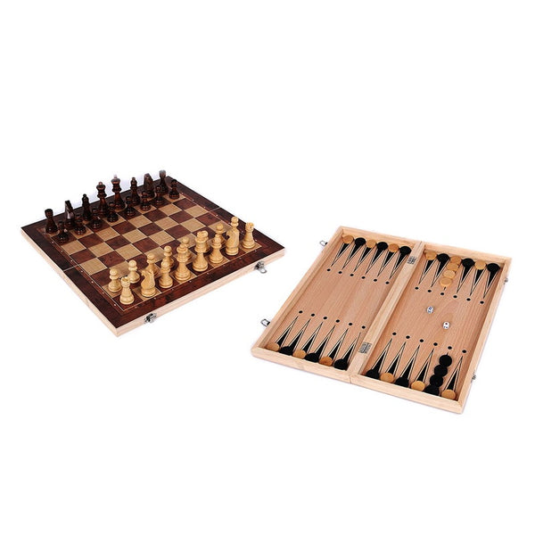3 in 1 Backgammon Set