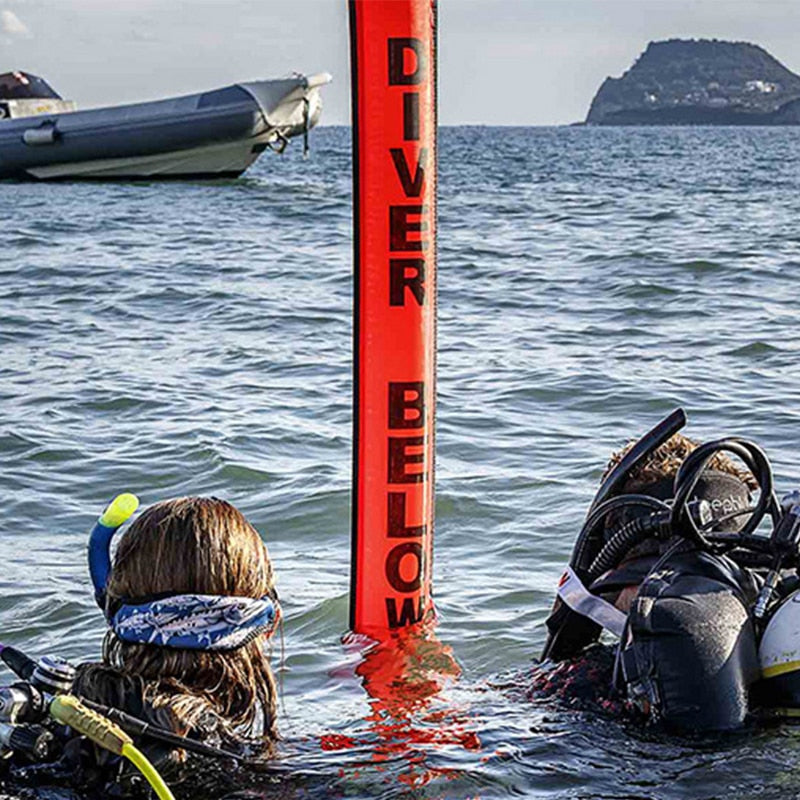 Colorful Inflatable Scuba Diving Signal Marker