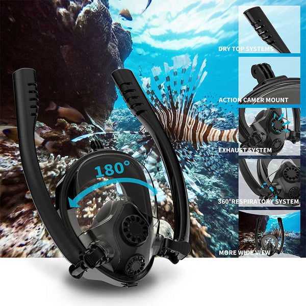 Anti Fog Full Face Snorkling Mask