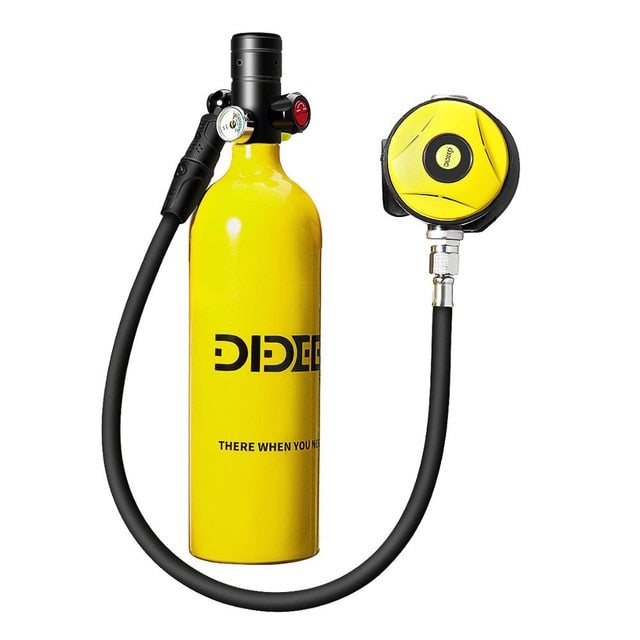 1L Mini Scuba Diving Cylinder Oxygen Tank Set