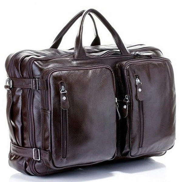Full Grain Genuine Leather Travel Bag