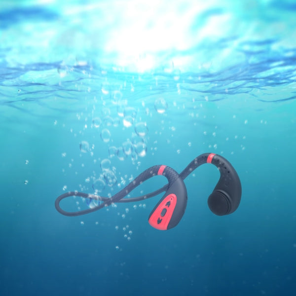 IPX8 Waterproof Bone Conduction Headphone with Built-in memory