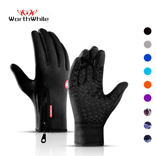 Waterproof Full Finger Cycling Gloves