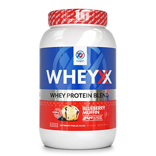 Vaxxen Labs WheyXX Whey Protein Powder Blend Birthday Cake 2LB Wellness Agora
