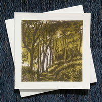 Beech Wood ~ card