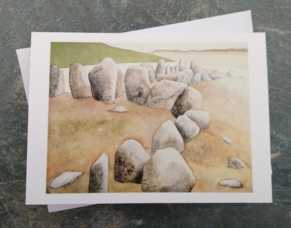 Cohaw Court Cairn ~ card