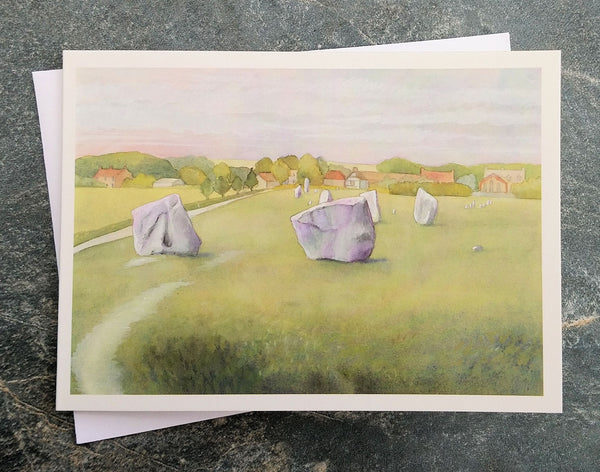 The Devil's Chair, Avebury ~ card