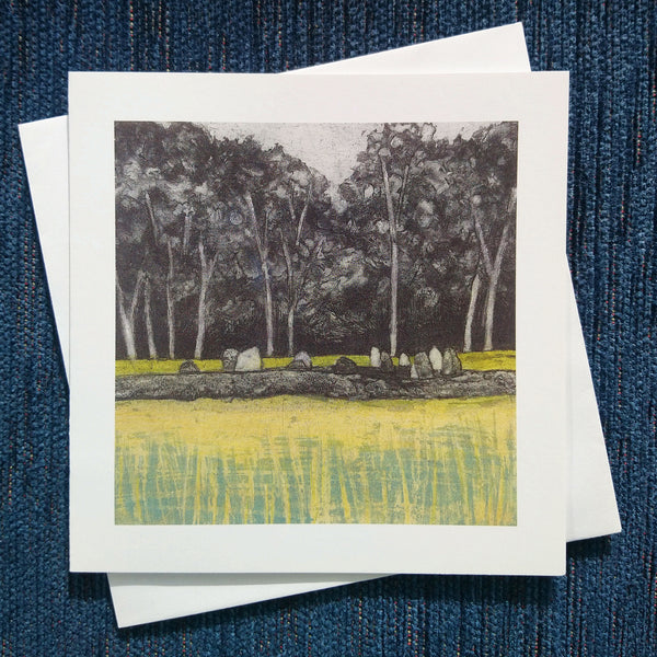 Fields of Gold ~ card