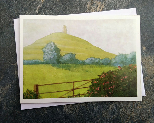 Glastonbury Tor ~ card
