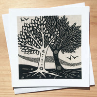 Marriage Trees ~ card