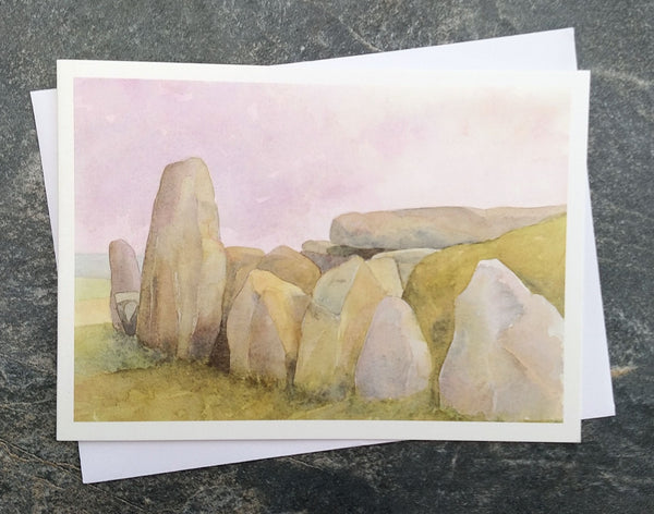 West Kennet Long Barrow ~ card