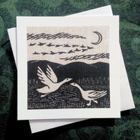 Wild Geese ~ card