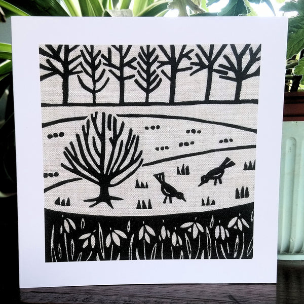 Winter Garden ~ card