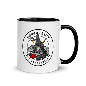 Mongol Rally Mug of Characterful Power