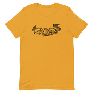 Mongol Rally Cars T - (gents)