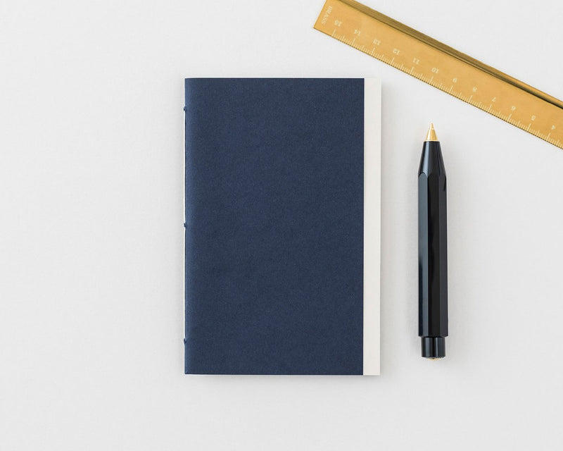 Handmade Notebook (Navy) X Petit Ourse