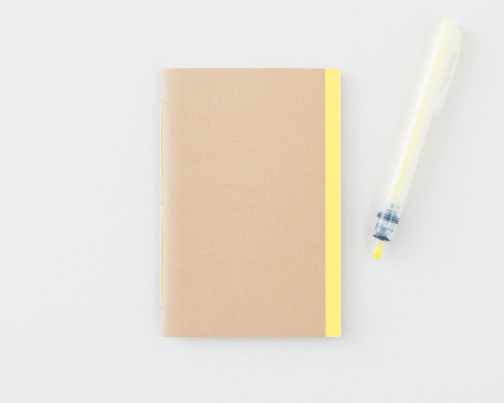 Handmade Notebook (Tan) X Petit Ourse