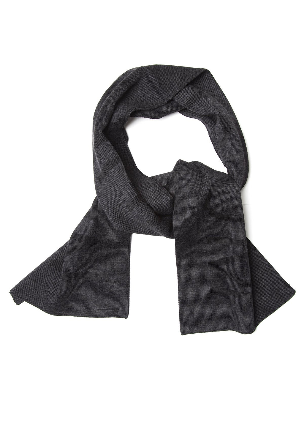 Recycled PET Scarf - Black Coal