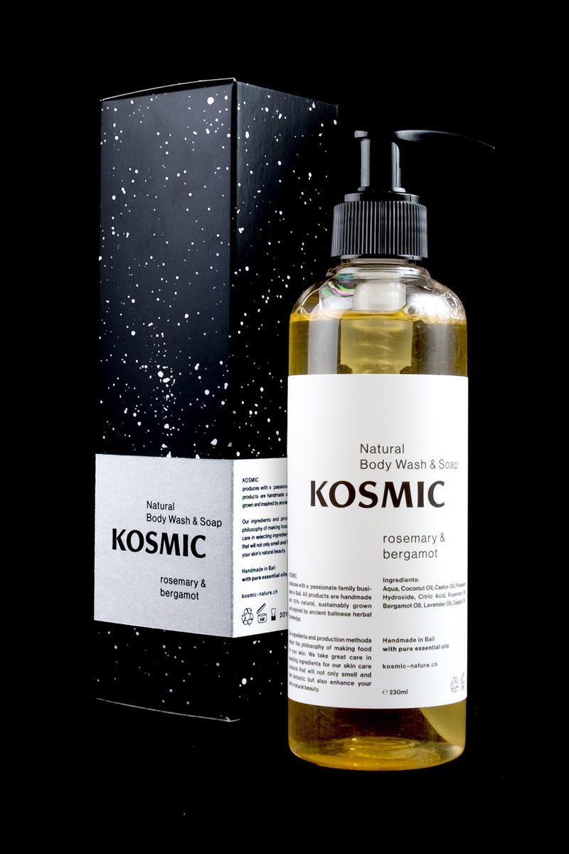 KOSMIC Natural Body Wash/Soap