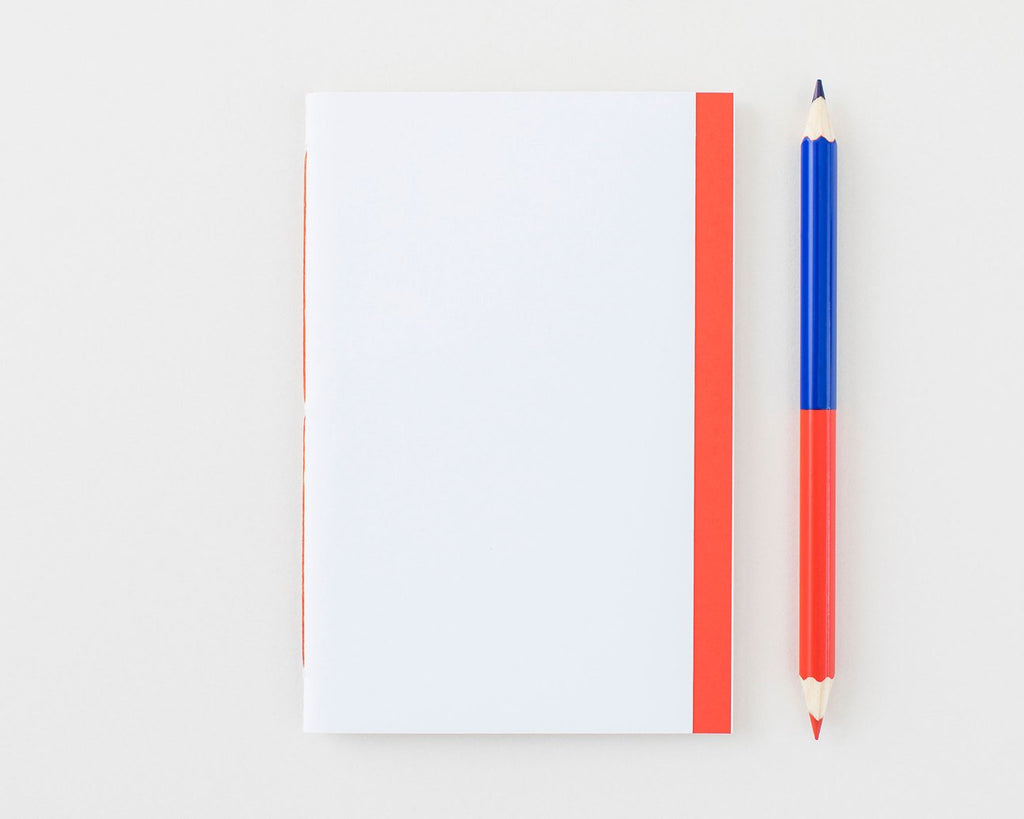 Handmade Notebook (White) X Petit Ourse