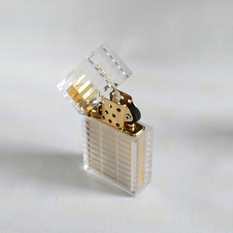 Purprle Marble Latitude Lighter by Tsubota Pearl