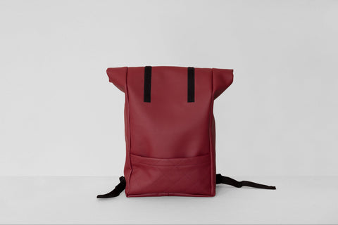 Vegan Leather Backpack (Honey)