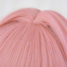 Japanese Anime Fate/Apocrypha Astolfo Cosplay Wigs Halloween Party Stage Long Pink Hair Bows Fate/Apocrypha Astolfo wigs+wig cap