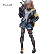COSREA Hot Game Girls Frontline Cosplay Costume Ump 45 Ump 9 Full Set School Uniform Costumes Halloween Party For Adult Woman