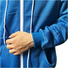 Sans Costume Undertale Cosplay Blue Hoodie Skeleton Brother Coat Men Adult Warm Thick Top Winter Zipper Long Sleeve Sweatshirt