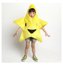 Yellow Cute Star Halloween Cosplay Costumes For Kids Starfish Jumpsuit Dance Perfomance Carnival Game Wear Free Shipping
