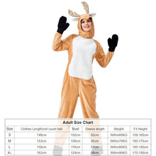 Christmas costume cosplay adult and kid costume parent-child animal costume  reindeer elk play santa cat clothes club robe
