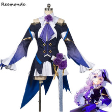 Game Honkai Impact 3 Kallen Kaslana Cosplay Costume Dresses Full Set Uniform Synthetic Wigs Hair For Adult Woman Girls Clothes