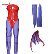 Lilith Cosplay Costume with Wings Whole Set Woman Halloween Outfit