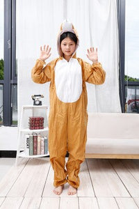DM Popular Boys Girls Dress Up Children Animals Cosplay Costumes Cows Tiger Festival Halloween Animals Group Game Party Costumes
