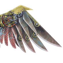Burning Man Carnival Party Unique Adult Decoration Steam Punk Wings Costume Steampunk Accessories anime cosplay