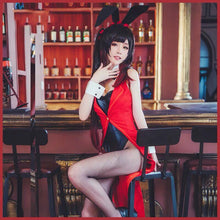 Anime DATE A LIVE Kurumi Tokisaki Sexy Lady Rabbit Summer Jumpsuits Cosplay Costume For Women Halloween Free shipping 2019.