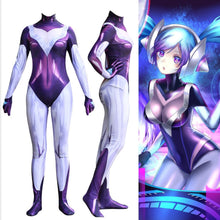 Game LOL Cosplay DJ SONA Costume Digital Printing Zentai Jumpsuits Adults Kids Suit Bodysuit Halloween Costumes