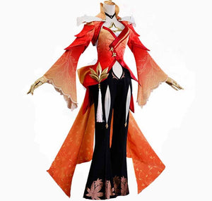 VEVEFHUANG Game Cosplay Gong Sun Li Costume for Men and woman Glory of Kings Cool primitive skin Gong Sun Li's Wigs and Shoes