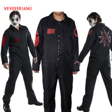 VEVEFUANG Slipknot orchestra Jumpsuits Cosplay Costume Slipknot clothes Slipknot Joey Mask cosplay Halloween men's performance