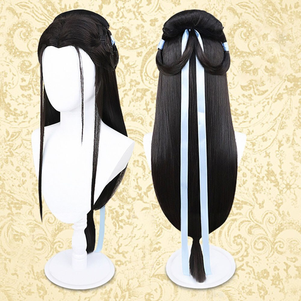 VEVEFHUANG White Snake Cosplay Costumes Madame White Snake Cos Chinese Love Story BaiSuZhen Cos White Long Dress Wig Headwear