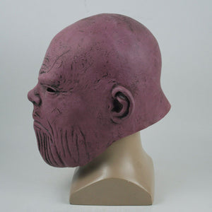 Movie Avengers 3 Infinity War Thanos Masks Latex Cosplay Face Full Head Helmets Halloween Carnival Party Props