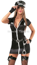New Arrive! Women Police Costumes, Sexy Uniform with Belt, Slim Women Fancy Dress, Sexy Cosplay Cheaper Price