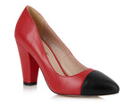 Beaulieu Court Shoe - Red