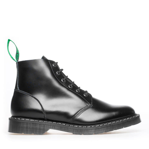 Black Hi-Shine Derby Boot